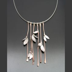 Bamboo Forrest Necklace by Ai Jewelry