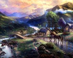 Emerald City ~ Thomas Kinkade   2008