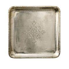 Holly's House - Silver Tray