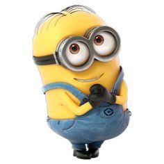 The Minions - Happy Dave Minion Rush, Minions Love, Minions Despicable Me, Minion Banana, Cute Minions Wallpaper, Humor Minion, Minions Images, Wonder Man, Telegram Stickers