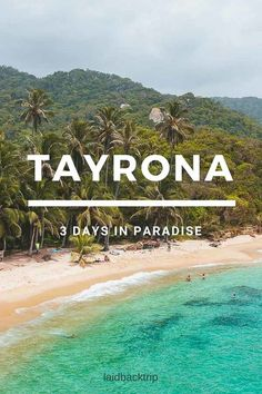 Ultimate Guide to Tayrona National Park, Colombia — LAIDBACK TRIP - The Ultimate Guide to the Tayrona National Park, a Parque Nacional in Colombia, right on the Carribean Coast Backpacking South America, Backpacking Europe, South America Travel, Columbia South America, Europe Packing, Traveling Europe, Packing Lists, Travel Packing, Travelling
