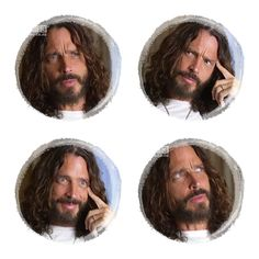 Chris Cornell Face Expressions