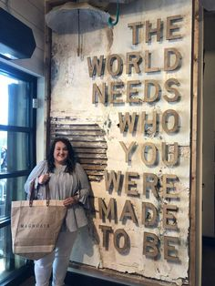 My Magnolia Market experience, the world needs who you were made to be #farmhouse #farmhousedecor #homedecor #decor #decoratingideas