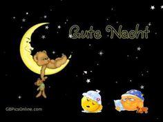 Gute Nacht Gruß mit Smileys - YouTube
