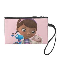Doc McStuffins and Her Animal Friends. Regalos, Gifts. #clutch #estuches