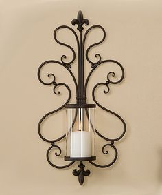 Take a look at this Metal Wall Candleholder on zulily today!