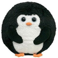 Santa brought us an Avalanche Penguin TY Beanie Ballz - he's awesome!