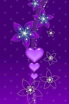 Heart Wallpaper Backgrounds Iphone Wallpapers Cute Background Beautiful Hearts Purple Reign Love