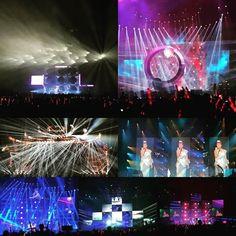 Gigi Leung touring-Shenzhen City 梁咏琪好时辰中国巡回演唱会-深圳站 Fixtures: 64pc x LiteLEES Big Eye L10 Rotation #lightingdesign #movingheads #stagetech