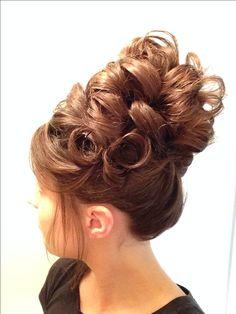 My hair- Up-do for long hair
