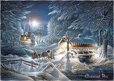 Téli táj háttérképek - images.qwqw.hu