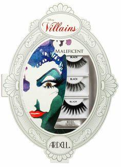 Ardell DISNEY VILLAINS Maleficent Sleeping Beauty Eyelashes Makeup Kit Rare NIB! #Ardell