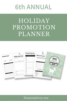 The Holiday Promotion and Success Kit allows you to plan promotions, blog posts, and social media posts for the 2021 Holiday Season.The Holiday Promotion and Success Kit include worksheets and checklists for you to complete. Also includes review and budget templates.The Holiday Promotion and Success Kit will help you develop a Holiday Promotion Plan and success strategy for the coming months. #holidaysales Buy Now! Social Media Cheat Sheet, Budget Templates, Holiday Sales, Marketing And Advertising, Gift Guide, Worksheets, Promotion, Blogging, Success