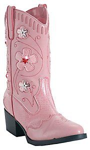 Roper® Childrens Pink Light Up Western Fashion Boots $59.99 FOR BRIONNA