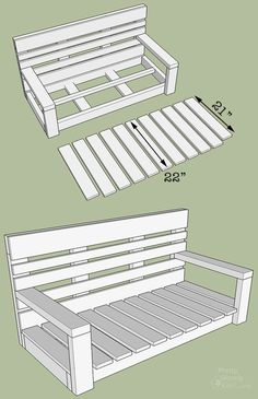 I made this porch swing using pallet wood! See how here… Want to build a porch swing using Free lumber? Here's how to Build a Porch Swing using Pallet Wood and Can it be done? Porch Swing Pallet, Wood Swing, Porch Swings, Pallet Swings, Diy Swing, Pallet Playhouse, Pallet Patio, Woodworking Projects Diy, Diy Pallet Projects