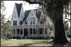 Ardoyne Plantation is a Victorian house built in the Gothic Revival style in 1894 in Houma, Louisiana...<3