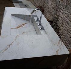 Bathroom Cost, Bathroom Sink Design, Kitchen Sink Design, Bathroom Spa, Bathroom Layout, Bathroom Interior Design, Modern Bathroom, Kitchen Tiles, Bedroom False Ceiling Design