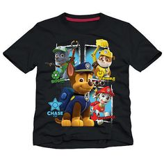 Nickelodeon Paw Patrol Black Shirt Toddler Boys Sz 3T New w/ Tags!! Great Gift!! #Nickelodeon #Everyday