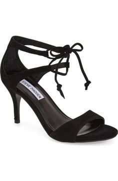 Steve Madden 'Salsaa' Lace-Up Ankle Strap Sandal (Women) available at #Nordstrom