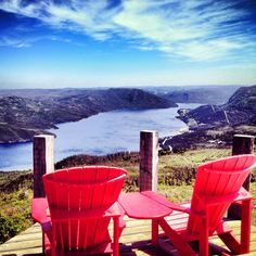 The view from the top of the Lookout Trail, Gros Morne national park, Newfoundland, Canada. Gros Morne, Goin Down, Parks Canada, Parcs, Salt And Water, Outdoor Life, Hiking Trails, East Coast, The Great Outdoors