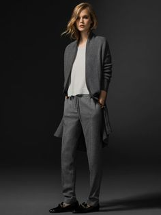 CÁRDIGAN LARGO LIMITED EDITION - WOMEN - NYC LIMITED EDITION - Massimo Dutti AW 2014