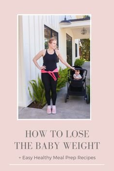 A weight loss regimen that works for mamas who don't have childcare. Includes mom hacks to exercise and stretch while watching baby + easy and healthy meal prep recipes to make for the week. Easy Healthy Meal Prep, Easy Healthy Recipes, Get Healthy, Life Hacks, Mom Hacks, Health And Wellness, Health Fitness, Body Fitness, Mental Health