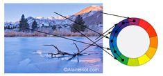 Color Harmonies-4-Cool, Warm, Split, Tetradic and Square