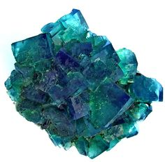 Fluorite on Matrix - Rogerly Mine