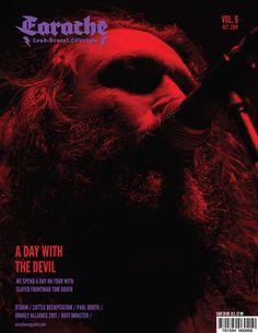 Heavy Metal Magazine Layout by Richard Macias, via Behance