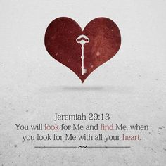 Jer 29:13 What a great verse!