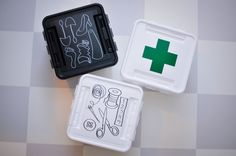SmartStore deco storage boxes: shoes, first aid & sewing