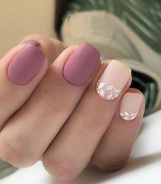 Nail art Christmas - the festive spirit on the nails. Over 70 creative ideas and tutorials - My Nails Minimalist Nails, Stylish Nails, Trendy Nails, Simple Acrylic Nails, Light Pink Nails, Nagellack Trends, Colorful Nail Designs, Light Pink Nail Designs, Manicure E Pedicure