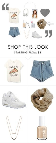 """cool style"" by rosemariedrg ❤ liked on Polyvore featuring WithChic, NIKE, Beats by Dr. Dre, Humble Chic, Michael Kors, Essie, HoneyBee Gardens, cool, pizza and polyvorefashion"