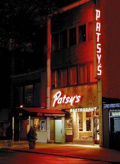 Patsy's on W. 56 St. Frank Sinatra's favorite NYC Italian restaurant.