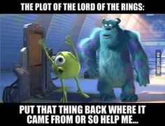 The Plot of The Lord Of The Rings