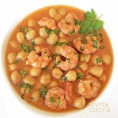 Ideas que tu vida Fish Recipes, Seafood Recipes, Cooking Recipes, Chickpea Recipes, Healthy Recipes, Good Food, Yummy Food, Peruvian Recipes, International Recipes