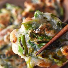 野菜でヘルシーおつまみ♪「長いもと納豆のお焼き」がもっちもちで美味〜!