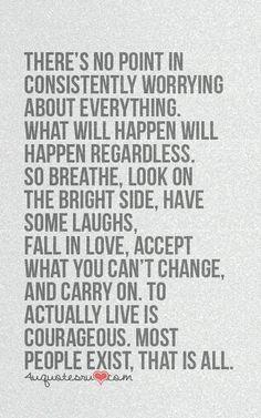 Just breathe!!!