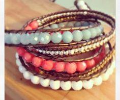 Ali's wrap bracelets   Jewelry inspiration
