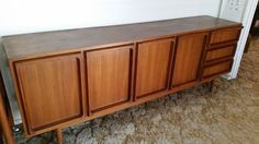 Chiswell 1970's teak buffet with 4 doors in Home & Garden, Furniture, Sideboards & Buffets | eBay!