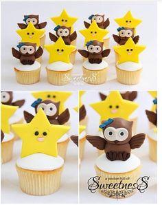 twinkle twinkle little star cupcakes