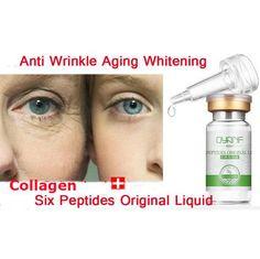 Qyanf Argireline líquido soro para estrias seis peptídeos Anti rugas creme Anti envelhecimento colágeno rejuvenescimento Face Lift cuidados com a pele alishoppbrasil