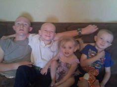 Mason, Rylan, Teagan and Weston.. Four of my Six Grandchildren.