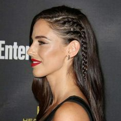 30 amazing party hair styles and how to recreate them - celyacsm . - 30 amazing party hair styles and how to recreate them Side braids which make your head look like it's shaved - 30 amazing party hair styles and how to recreate them Side Braid Hairstyles, Straight Hairstyles, Hairstyle Ideas, Hairstyles Black Hair, Rainy Day Hairstyles, Party Hairstyles For Long Hair, Wedding Hairstyles, Pulled Back Hairstyles, Flower Girl Hairstyles