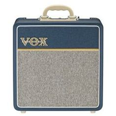 Vox 4W 1x10 All Tube Mini Guitar Combo Amp w/Top Boost.   Would be nice to bring for church and at home practice amp. Sounds awesome.