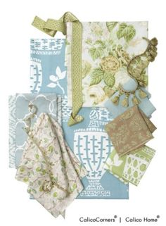 Charlotte Moss Fabric Collection 3...Guest Bedroom inspiration