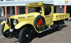 Promotional Vehicles - Vintage Racers and Iconic Truck - HOOTERS ...