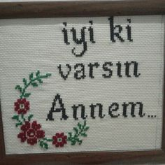 Embroidery Stitches, Pattern, Mother's Day