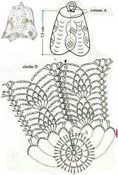 ALL FOR THE NEW YEAR - CrochetRibArt Crochet Ball, Crochet Diy, Thread Crochet, Crochet Doilies, Crochet Flowers, Crochet Stitches, Crochet Christmas Ornaments, Christmas Crochet Patterns, Holiday Crochet