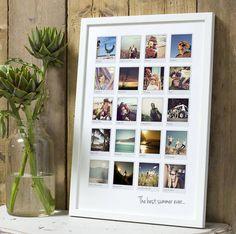 Personalised Polaroid Album Print — The Drifting Bear Co.